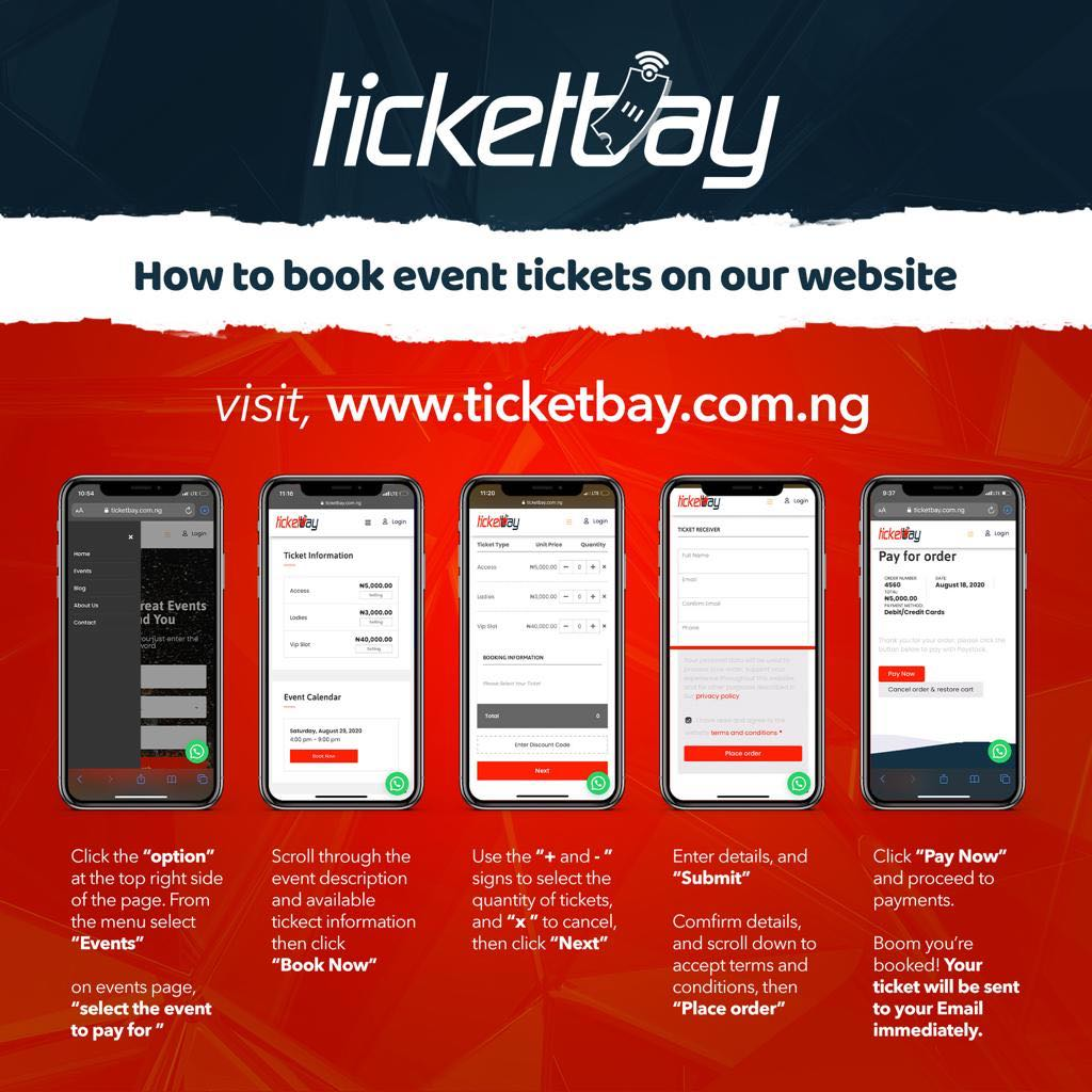 Ticketbay Booking Process