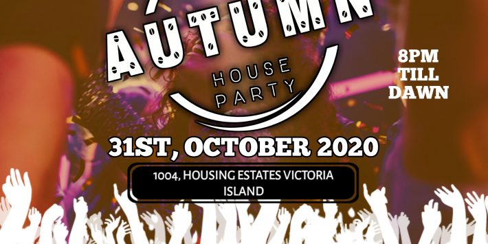 Autumn house party