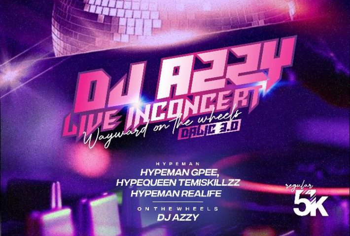 DJ AZZY LIVE IN CONCERT