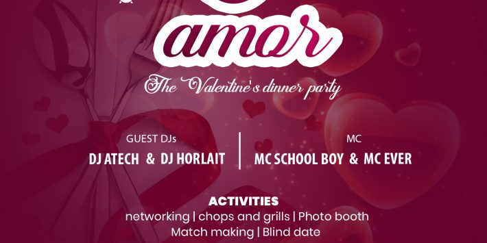 EL-AMORE (the Valentine's dinner party)