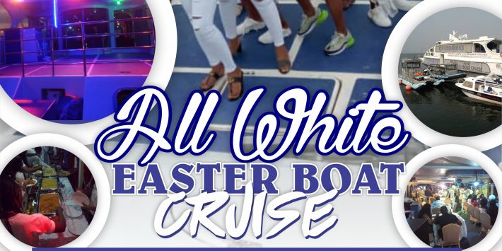 All White Easter Monday Boat Cruise